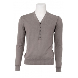 Guess vest men - Brant sweater - Sterling grey - grijs