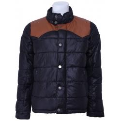 Pepe Jeans winterjas - Fletcher - Zwart - bruin