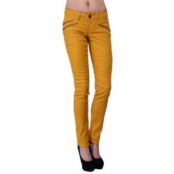 Dept broek gecoat - Golden Girl - Oker geel