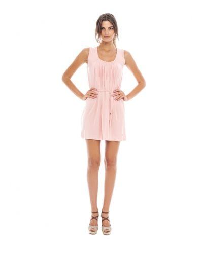 origineel mode stijl nieuwe release Pastel pink - roze jurkje online bestellen